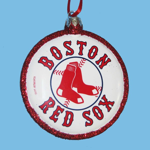 Boston Christmas Tree Delivery: CLEARANCE Boston Red Sox MLB Baseball Christmas Tree