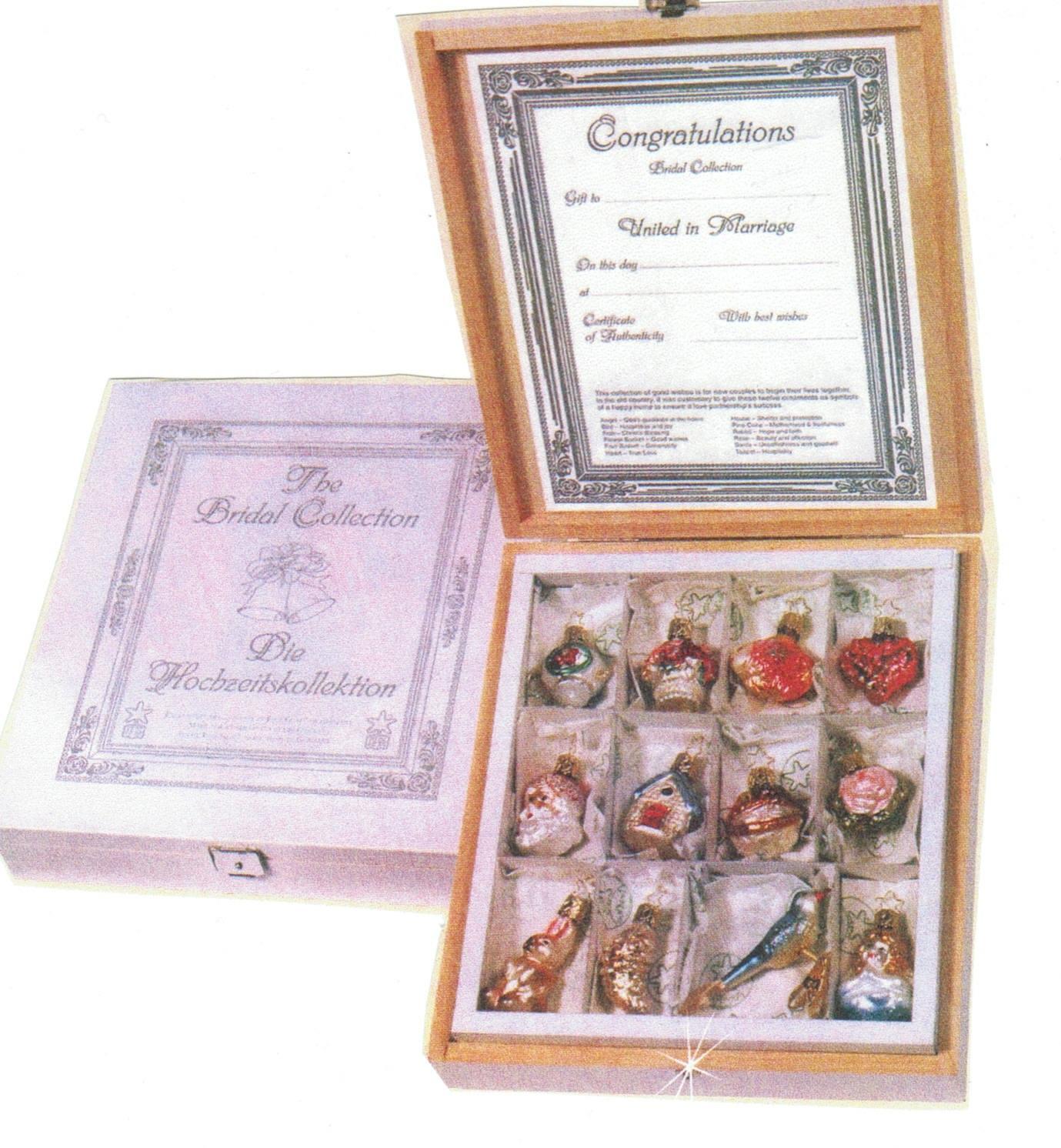 Inge Glas Mini Bridal Collection German Glass Christmas ...