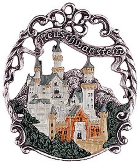 Neuschwanstein Castle Bavaria Germany German Pewter