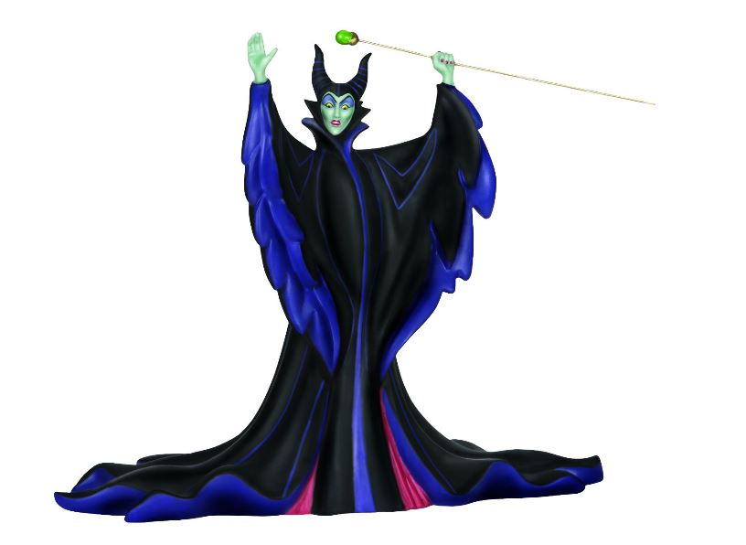 Precious Moments Disney Stand Back You Fools Maleficent